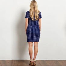 Load image into Gallery viewer, Maternity Polka Dot Bodycon Dress