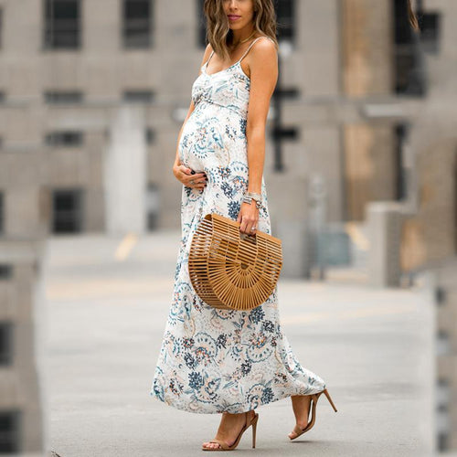 Maternity Full Length Cami Dress