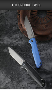 CH3507 Original D2 Steel Folding Knife G10 Handle Ball Bearing Tumbling Camping Hunting Knife