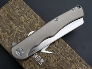 CH CH2006 man's knife S35VN blade titanium alloy handle folding knife outdoor tactical survival camping tool EDC pocket knife