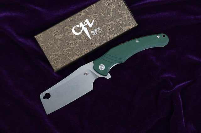 CH3531-G10 Folding Knife D2 Blade G10 Handle Outdoor Camping Hunting Pocket Knives