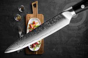 Rabbit Fantasy Set Knife Damascus VG10 Steel Kitchen Knife Sharp Cut Slicing Sushi Paring Santoku Japanese Kitchen Knife Cooking Tools