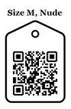 size m, nude qr code discount