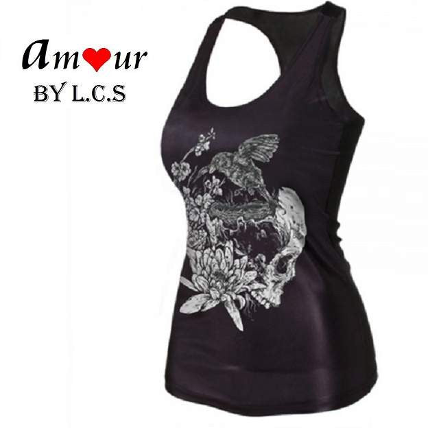 [yoga sports tank top] - AMOUR Lingerie