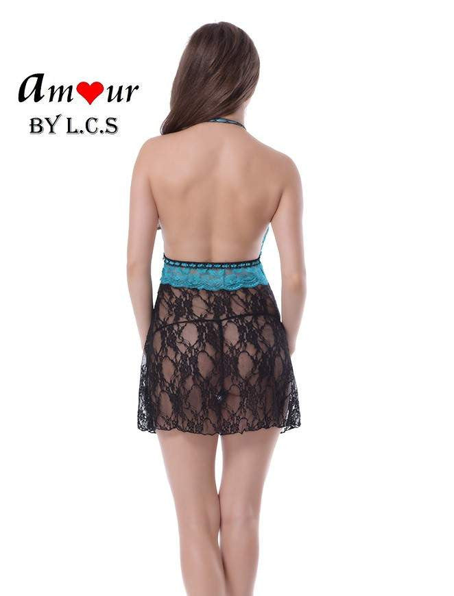 [sexy lace bareback babydoll] - AMOUR Lingerie