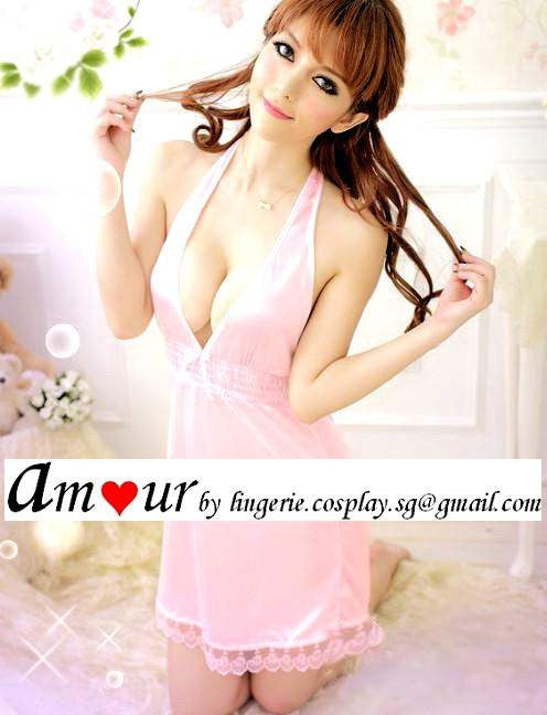 [sexy pink babydoll lingerie] - AMOUR Lingerie