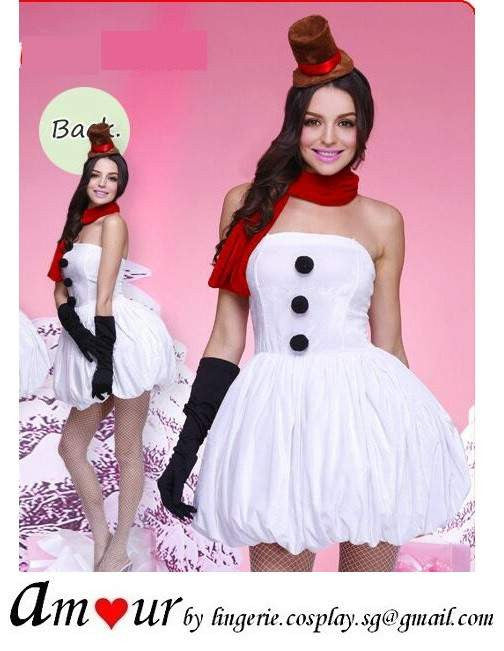 [christmas costume tutu dress] - AMOUR Lingerie