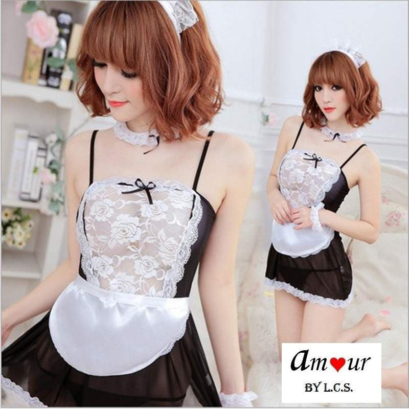 [sexy maid cosplay costume] - AMOUR Lingerie