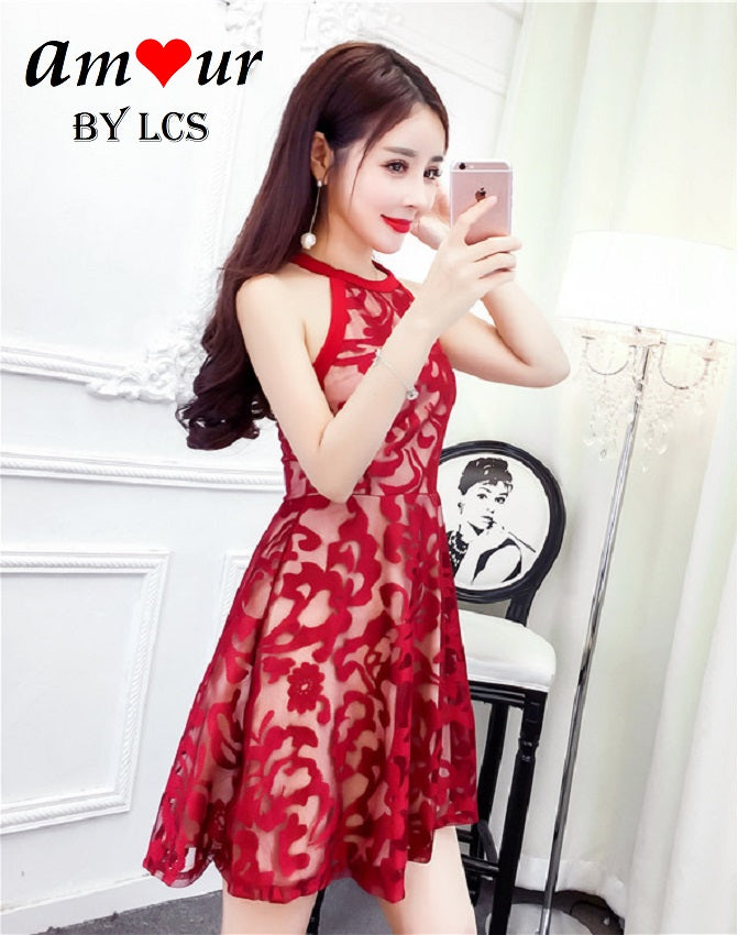[romance dating skater dress] - AMOUR Lingerie