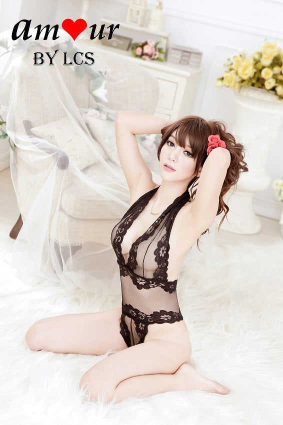 [sexy see through teddy lingerie] - AMOUR Lingerie
