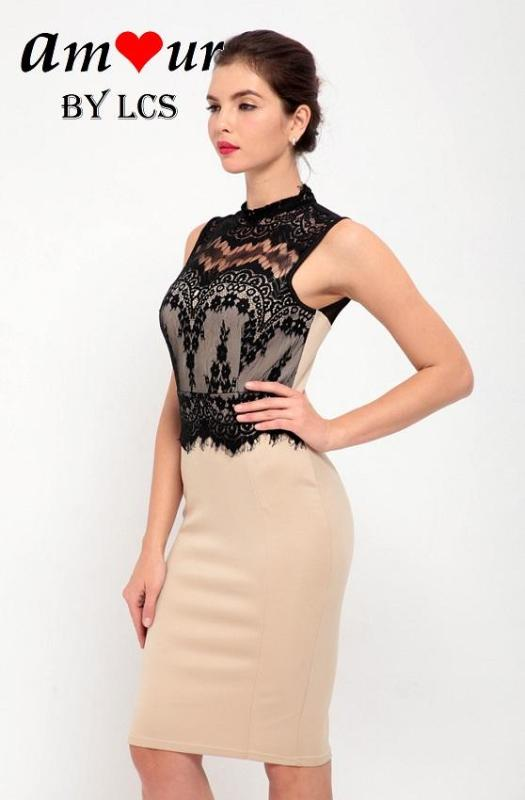 clubbing lace pencil dress