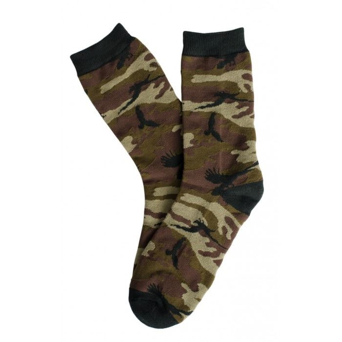 Shadow Crow Camo Crew Socks Camo