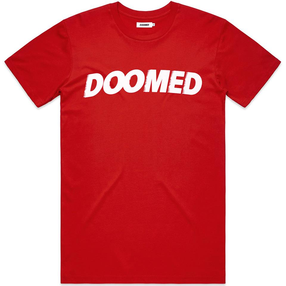 Doomed Archie T-Shirt - Red