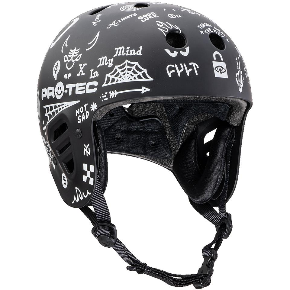 Pro-Tec Full Cut Certified Cult Helmet - Matte Black
