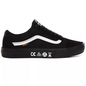 Vans X Cult Old Skool Pro BMX - Black/Black