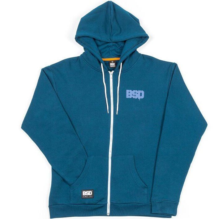 BSD Acid face Sweatshirt - Blue