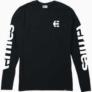 Etnies E-Mark Long Sleeve T-Shirt - Black