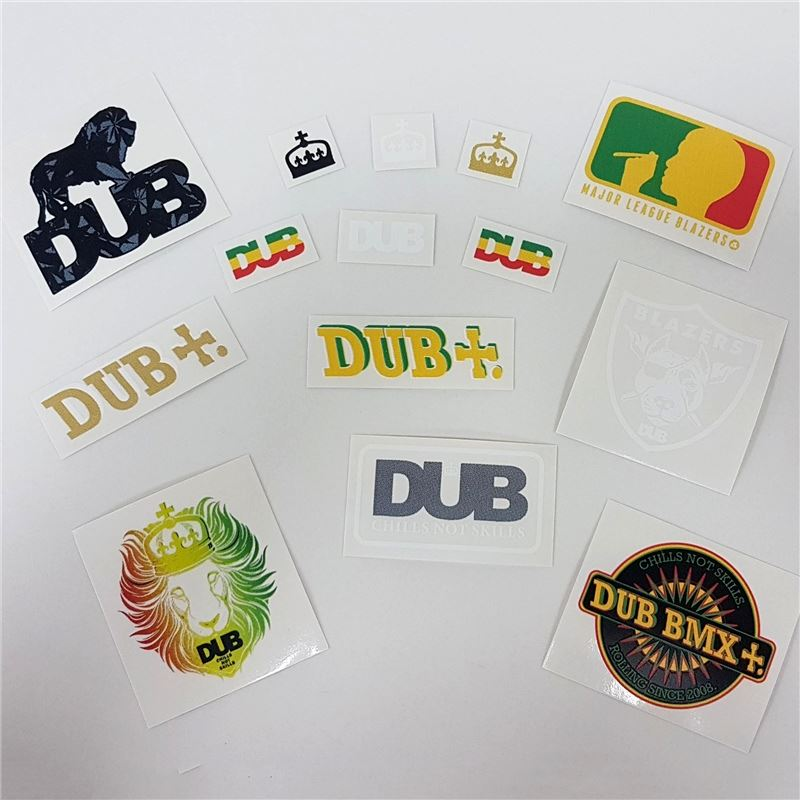 Dub Assorted Sticker Pack