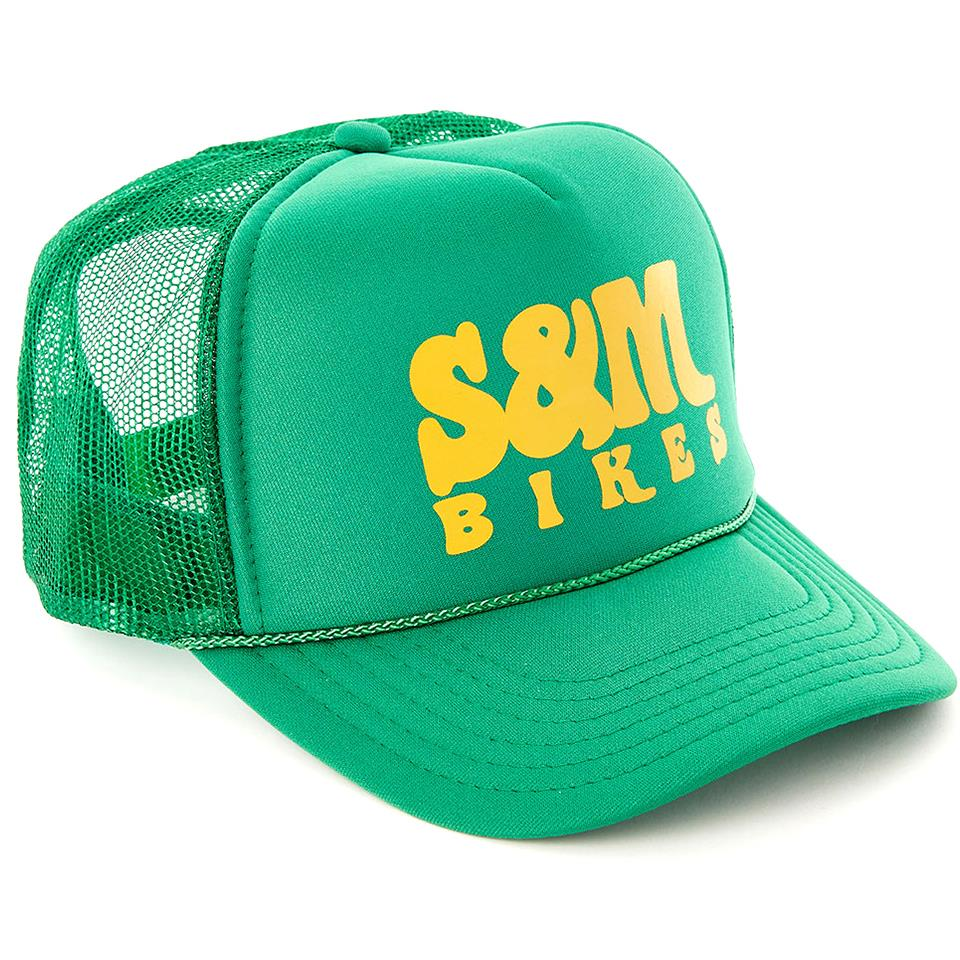 S&M Keep On Trucking Hat - Kelly Green