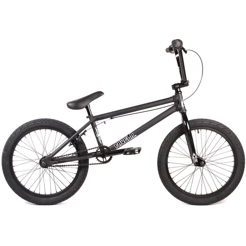 Jet BMX Favela BMX Bike - Black/Black Kit