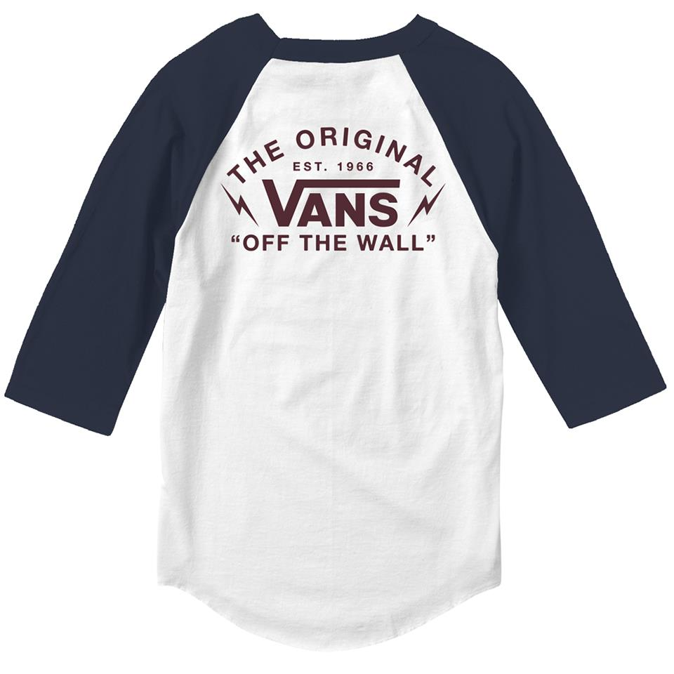 Vans Bolt Action Raglan - White/Dress Blues
