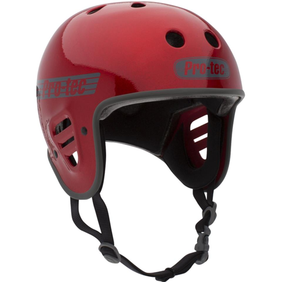 Pro-Tec Full Cut Certified Helmet - Red Metal Flake
