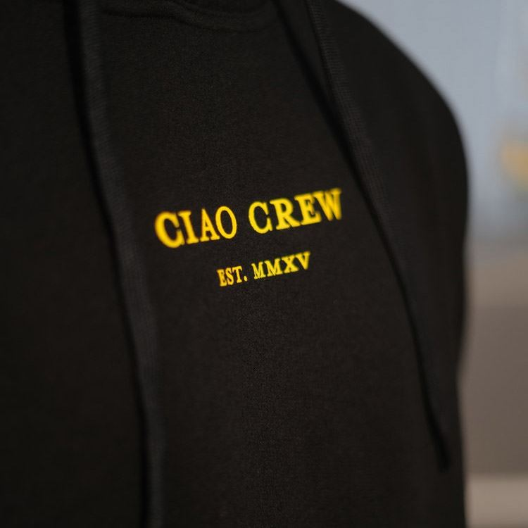 Ciao MMXV Hoodie -  Black