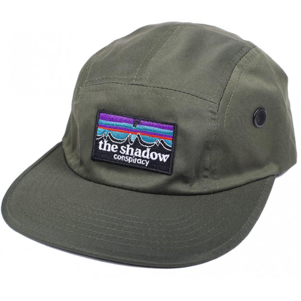 Shadow Out There Camp Hat - Olive