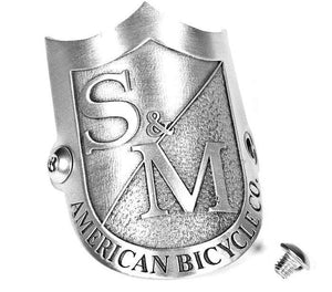 S&M Head tube badge