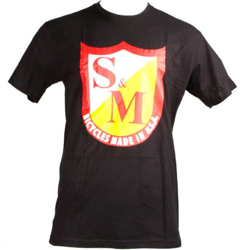 S&M OG Shield T-Shirt - Black