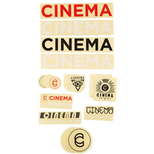 Cinema Assorted Sticker Pack 2019