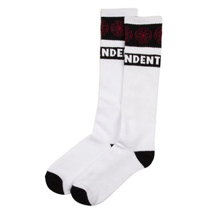 Independent Woven Crosses Socks