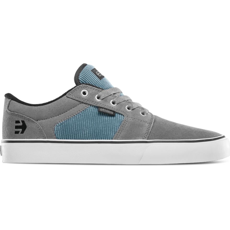 Etnies Barge LS Shoes - Grey/Blue