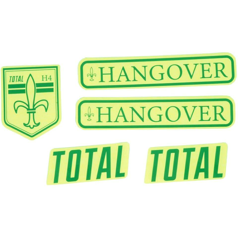 Total BMX Hangover H4 Frame Stickers
