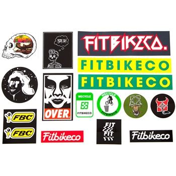 Fit Assorted sticker pack