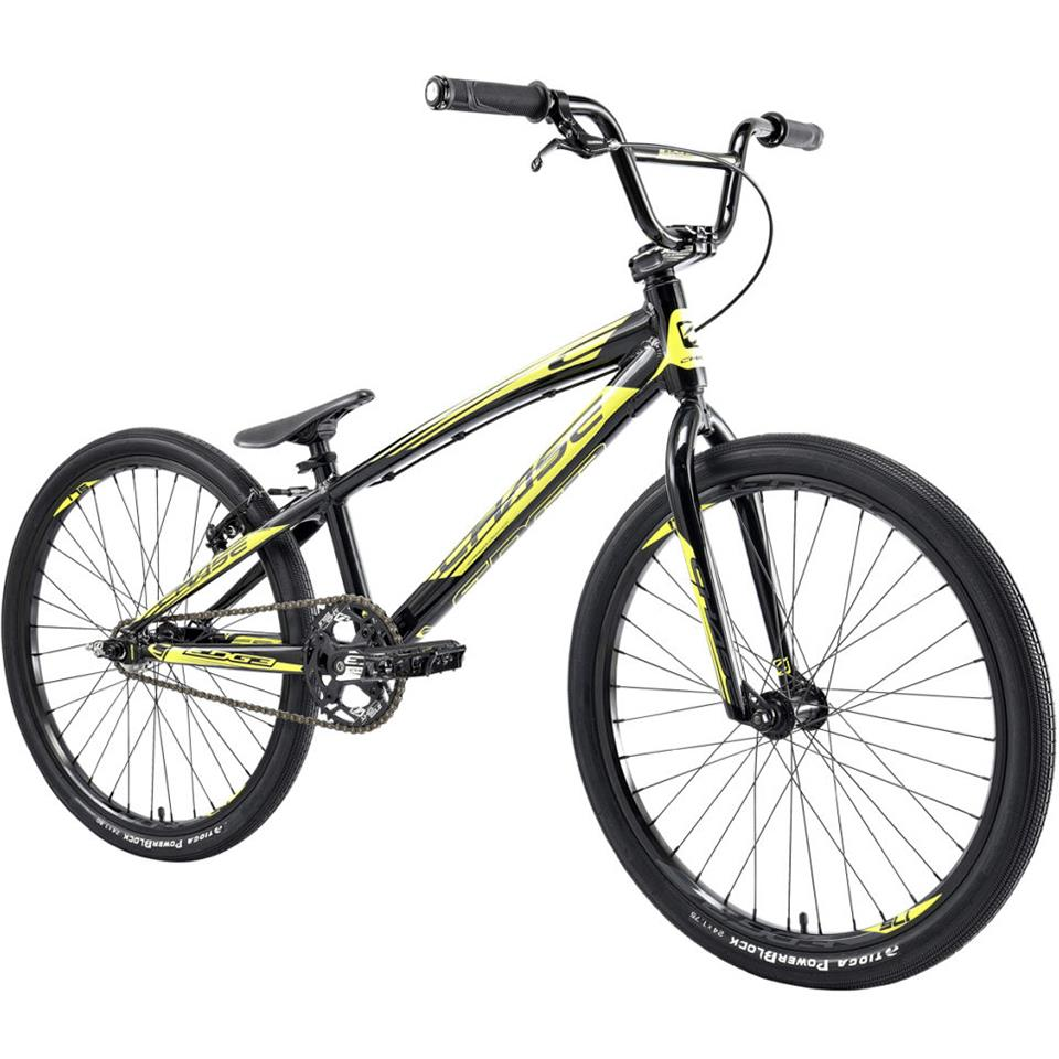 Chase Edge Cruiser BMX Race Bike/ Black/Neon Yellow