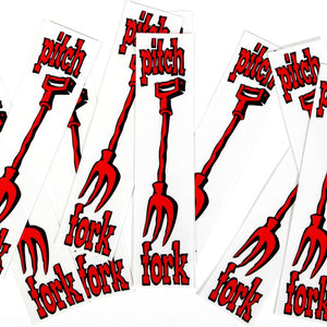 S&M Origianl Pitchfork Decal (10 pack)