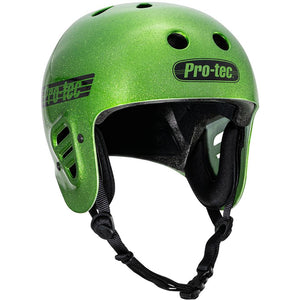 Pro-Tec Full Cut Certified Helmet - Candy Green Flake