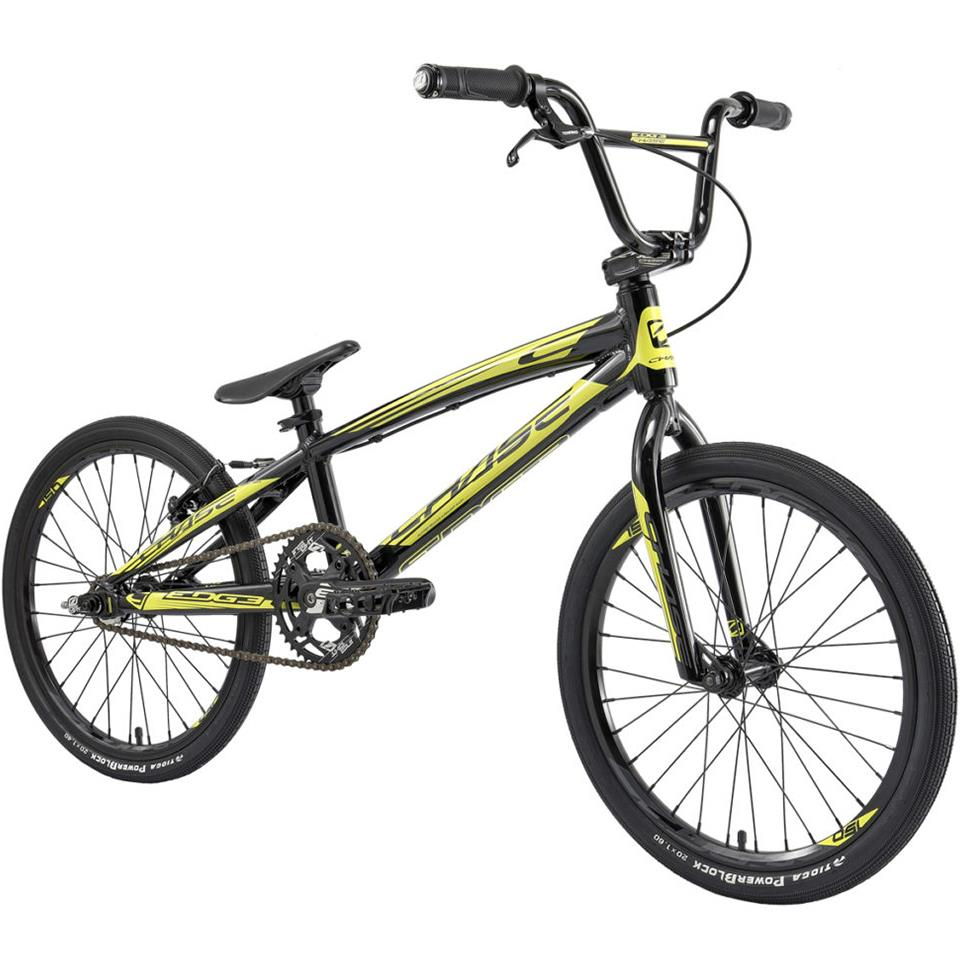Chase Edge Expert XL 2020 BMX Race Bike/ Black/Neon Yellow