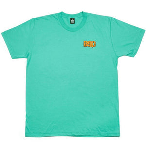 BSD Melting Acid Face T-Shirt - Mint