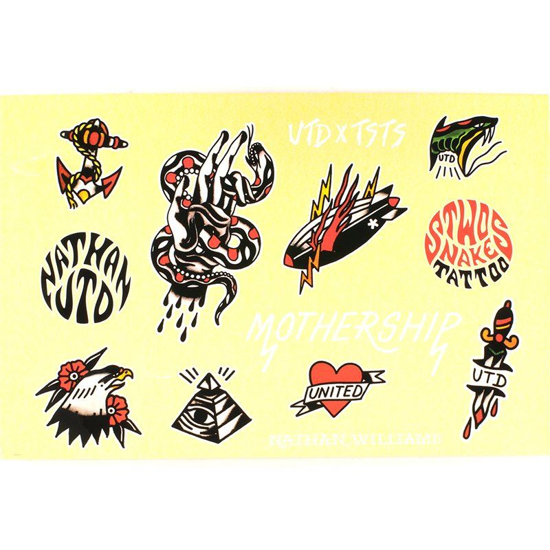 United Mothership 2016 Flash Sticker Sheet