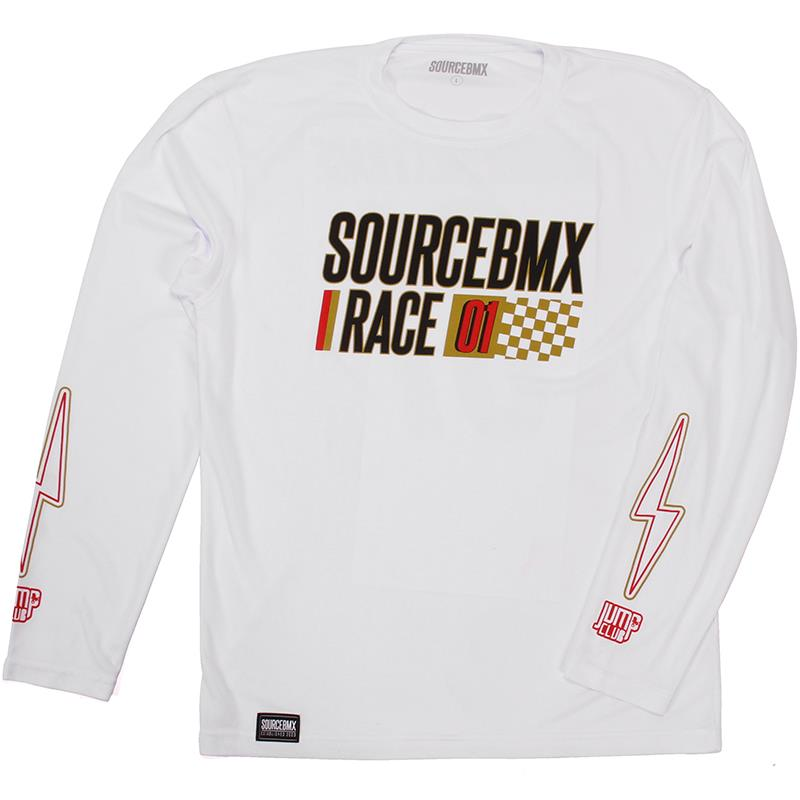 Source Practice Race Jersey - White