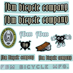 FBM Assorted 13pc Sticker Pack