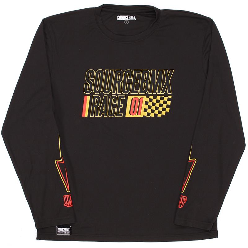 Source Practice Race Jersey - Black