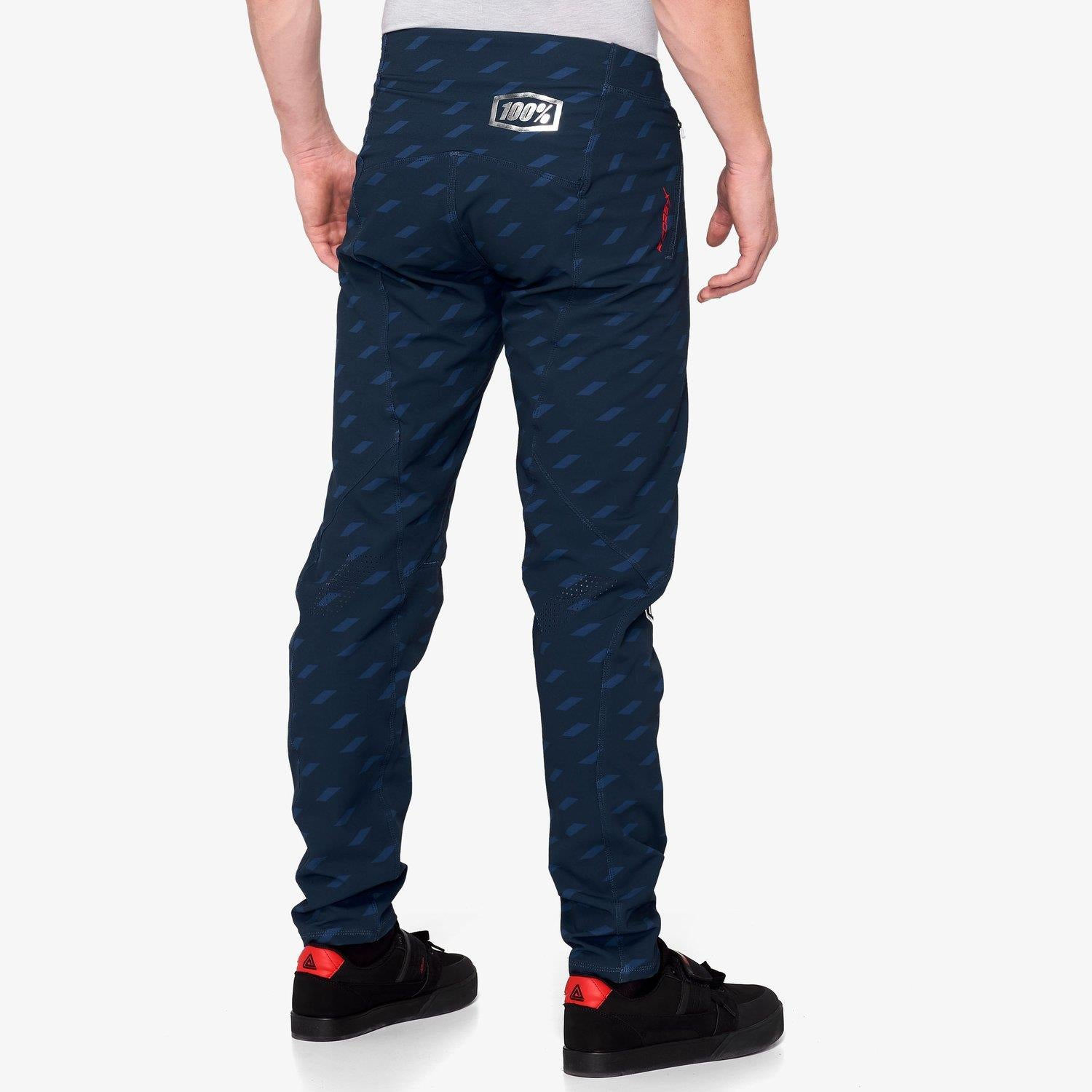 100% R-Core X Race Limited Edition Pants - Navy/White