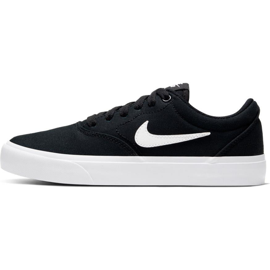 Nike SB Charge Canvas- Black/White/Black