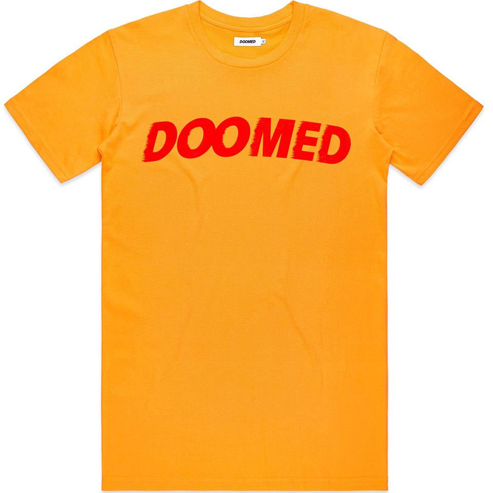 Doomed Archie T-Shirt - Yellow