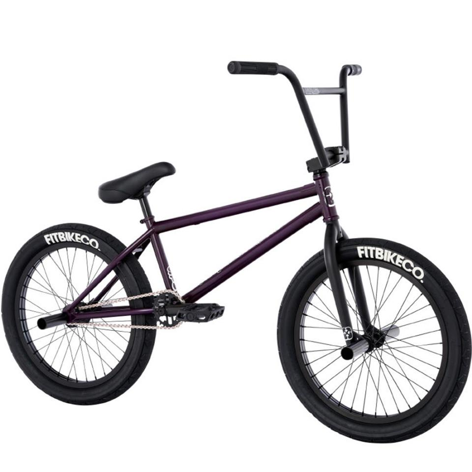 Fit STR Freecoaster (LG) BMX Bike 2021 - TRANS MATTE PURPLE