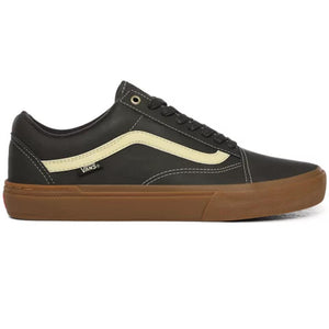 Vans Dennis Enarson Old Skool Pro BMX Shoes - Olive/Gum