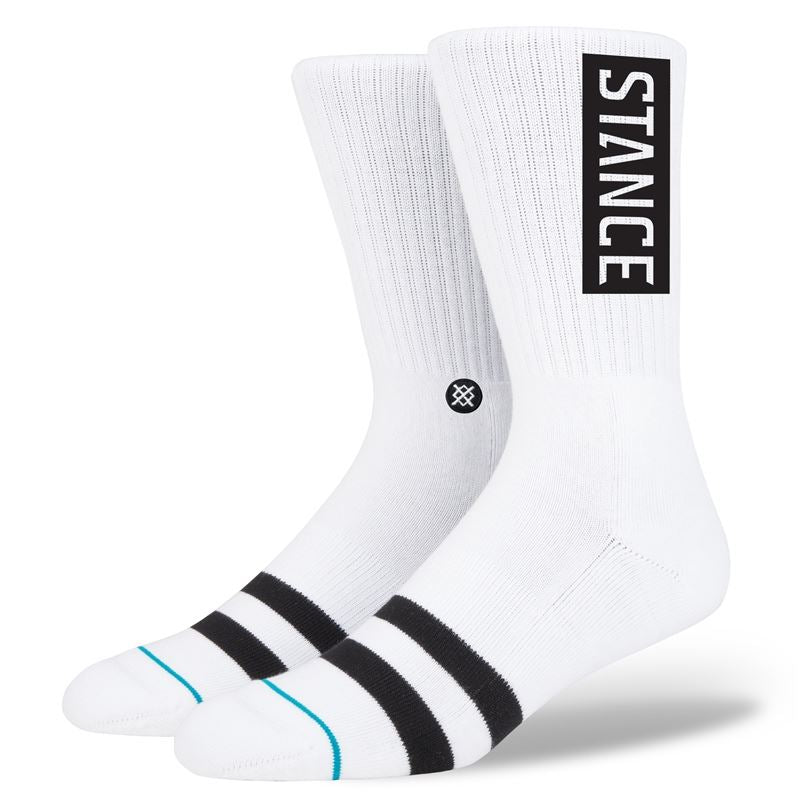 Stance OG Socks - White L/XL (8-12UK)
